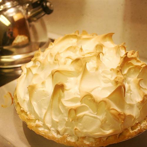 Lemon Lime Meringue Pie Perfection